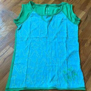 EUC Armani Exchange sleeveless tshirt!